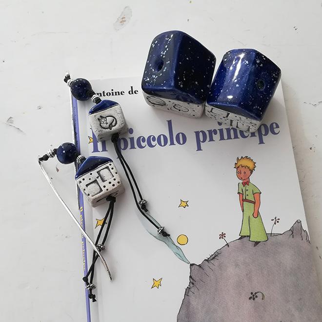 Casette Piccolo Principe dal tetto blu cosmo