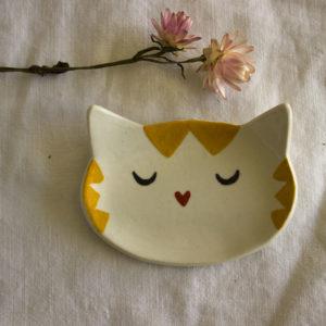 piattino gatto